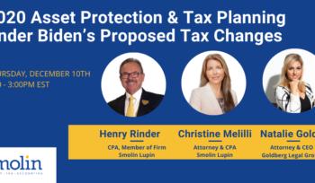 estate planning Biden taxes